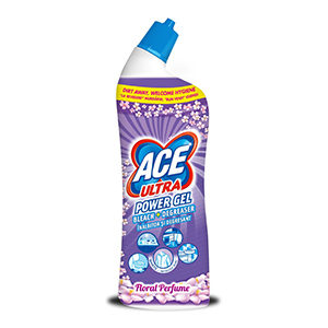 Ace ultra power gel 750 ml floral perfume