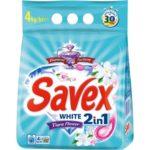 savex-automat-4-kg-2-in-1-white-tiara-flower