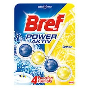 Bref blue activ 50 gr lemon bilute wc