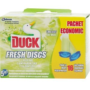 Duck fresh discs rezerva 2 buc 5 in 1 lime zest 16 sapt