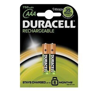 Duracell acumulator 2 buc aaak2 750 mah