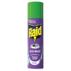 Raid antimolii 250 ml spray lavanda