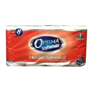Sano hartie igienica optima 8 role 2 str