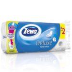 Zewa deluxe hartie igienica (8+2gr) pure white -3 str