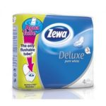 Zewa plus hartie igienica 4 role pure white-3 str.