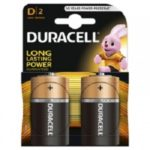 Duracell baterii 2 buc d- r20 improved bas