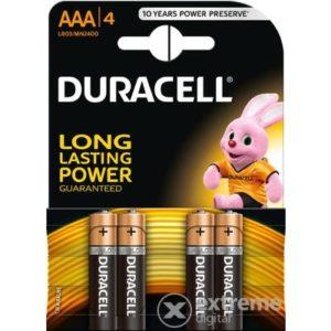 Duracell baterii 4 buc aaak4- r03 improvedplus bas