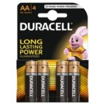 Duracell baterii 4 buc aak4- r6 improved bas