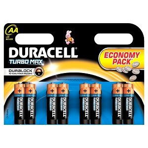 Duracell baterii 8 buc aak8- r6 improved basic