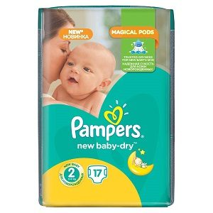 Pampers 2 new baby mini sp(17) 3-6 kg