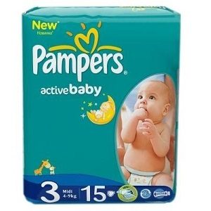Pampers 3 new baby midi sp(15) 4-9 kg