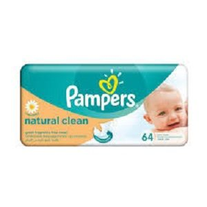 Pampers wipes rezerva(64)naturally clean