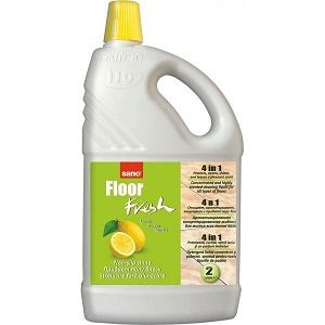 Sano detergent pardoseli floor fresh 4in1 2 l-lemon