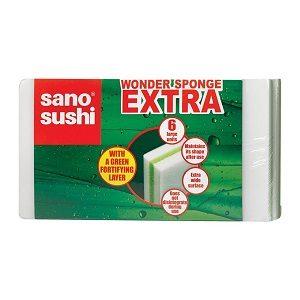 Sano bureti sushi magic sponge extra 6 buc